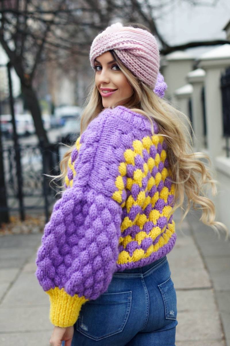 Fioletowo – żółty HEARTBEAT